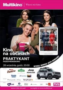 Kino na obcasach_Praktykant_PLAKAT