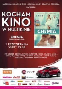 Kocham Kino w Multikinie_Chemia_PLAKAT