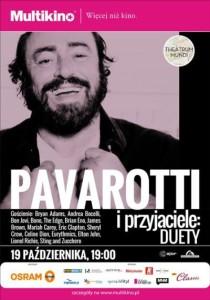Pavarotti i Przyjaciele Duety_PLAKAT