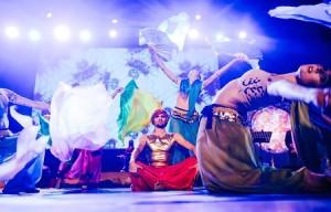 SZEHEREZADA  - historia opowiedziana muzyką tańcem i światłem
