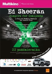 Ed Sheeran Jumpers for Goalposts_PLAKAT