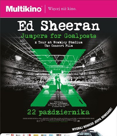 Ed Sheeran Jumpers for Goalposts_PLAKAT