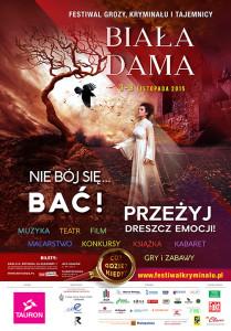 """Festiwal Grozy, Tajemnicy i Kryminału """"Biała Dama"""""""