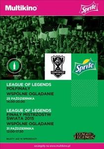 League of Legends_połfinały_finały_2015_PLAKAT