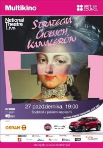 Strategia gołych kawalerów z National Theatre 27 października w Multikinie_plakat