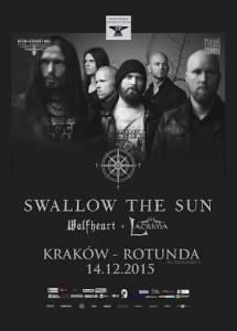 Fiński doom metal w Krakowie - Swallow the Sun