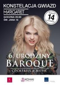 MARGARET w BAROQUE Cocktails & Music