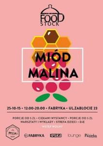 FOODSTOCK MIÓD MALINA