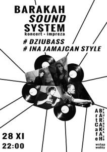 ArtCafe Barakah - Barakah Sound System__plakat