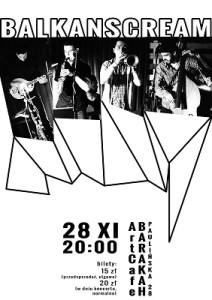 ArtCafe_Barakah - koncert_Balkanscream.plakat