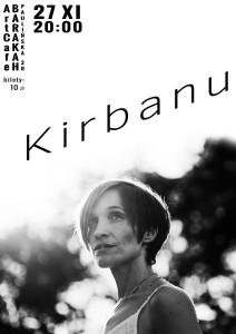 ArtCafe_Barakah - koncert_Kirbanu.plakat