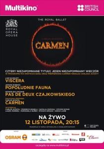 Carmen w baletowej adaptacji_PLAKAT