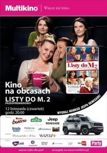 Kino na obcasach_Listy do M. 2_PLAKAT