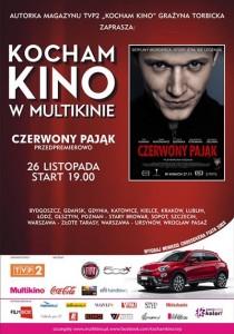 Kocham Kino w Multikinie_Czerwony Pająk_PLAKAT