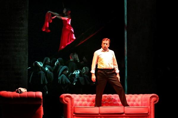 Adam Zdunikowski, Gabriela Kubacka, Chór Opery Krakowskiej, fot. Marek Grotowski