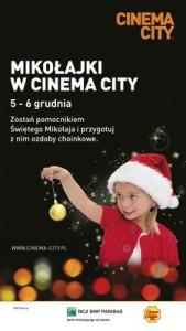 Mikołajki w Cinema City
