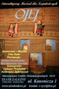 Spektakl dla dzieci Ojej w Teatrze Zelaznym Krakow