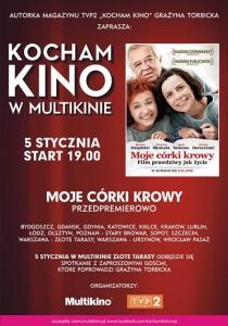 Kocham Kino w Multikinie_Moje córki krowy_PLAKAT