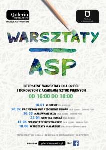 AI1603_Warsztaty ASP - plakat
