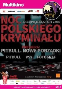 ENEMEF Noc Polskiego Kryminału_PLAKAT