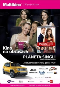Planeta singli_Kino na Obcasach_PLAKAT