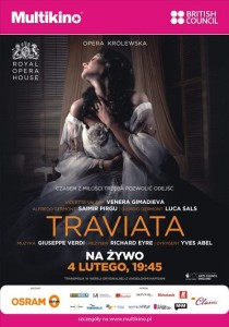 Traviata z Royal Opera House_PLAKAT