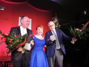 VOX Opera 2015_ na zdjęciu Katarzyna Oleś-Blacha (sopran) oraz Wojciech Golachowski i Andrzej Zdebski (laureaci) fot. E. Bąkowska