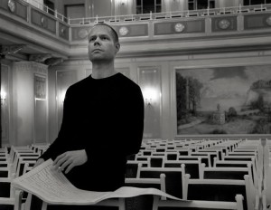 rehearsal, march 2012, BerlinMax Richter