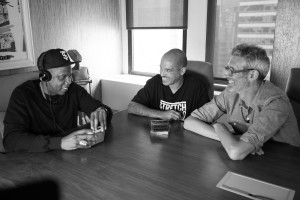 Jay Z, Stretch and Bobbito Radio That Changes Lives, fot. Matt McGinley