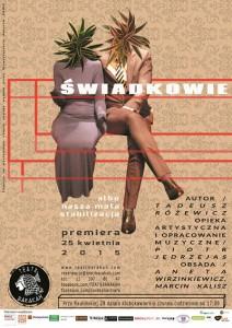 Teatr Barakah - Świadkowie__plakatpiksele