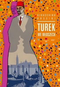 Turek we Włoszech. Projekt plakatu Andrzej Pągowski