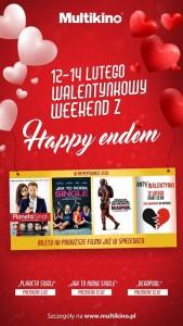 Walentynkowy weekend w Multikinie_PLAKAT