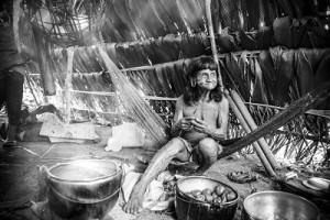 Ecuador - Huaorani Cooking
