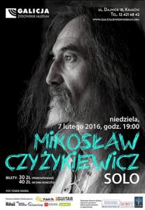 Mirosław Czyżykiewicz SOLO