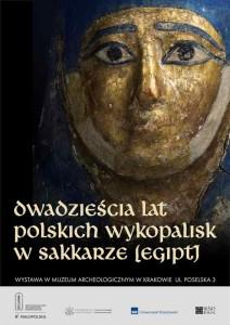plakat wystawa Sakkara