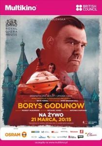 """Borys Godunow""_PLAKAT"
