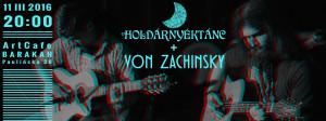 ArtCafe Barakah - koncert (Holdárnyéktánc [HU] von Zachinsky [PL])__grafika