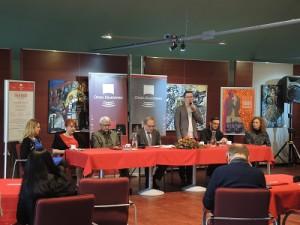 """PokonferencjiprasowejTurkawe Włoszech""""wOperzeKrakowskiej"""