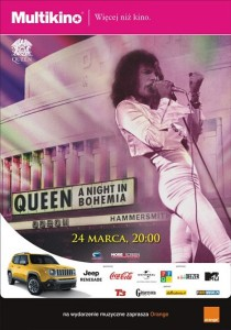 Queen_A night in Bohemia_PLAKAT