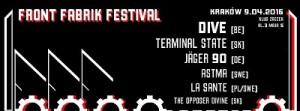 FRONT FABRIK FESTIVAL 8-9 kwietnia 2016