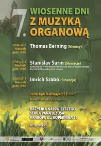 2016_Wiosenne Dni z Muzyką Organową
