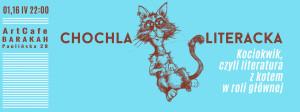 ArtCafe Barakah - Chochla literacka 4 - Kociokwik, czyli literatura z kotem w roli głównej_grafika (1)