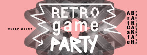 ArtCafe Barakah - Retro Game Party_grafika