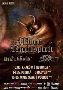 The Moon & the Nigthspirit w Polsce