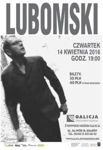 Mariusz Lubomski - koncert w Żydowskim Muzeum Galicja