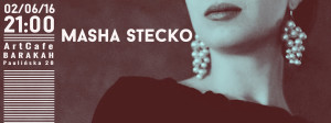 ArtCafe Barakah - koncert (Masha Stecko)__grafika