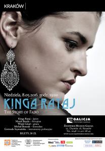 Kinga Rataj 8.05.-plakat