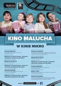 Kino Malucha w Galerii Bronowice_plakat
