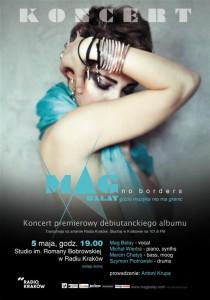 MAG BALAY Koncert w Radio Kraków_plakat
