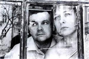 na zdjęciu Anna Dzierża, Karol Zapała, mat. Teatru Kontrabanda